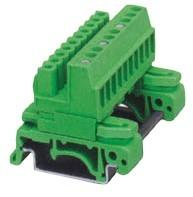 China Din Rail Plug-in Terminal Block Header Pin 02 poles pitch:5.08mm / 0.2 in on sale