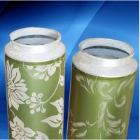 Multicolor Rotary Screen Printing Flexible Ni Thickness 105M High Toughness Manufactures