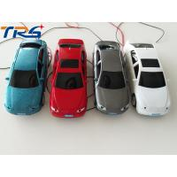 China 1:50 scale ABS plastic  model painted  light car with LED for HO scale model train layout on sale