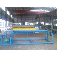Welded Roll Wire Mesh Making Machine , Wire Mesh Fencing Machine For Construction Manufactures