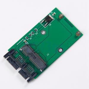 Quality Mini PCIe PCI-e MSATA SSD Micro adaptateur SATA PCBA HG OEM Service for sale