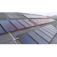 China Flat Plate Solar Collector Solar Water Heater Super September Rock Wool Insulation on sale