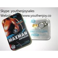 MAXMAN III 10 Gold Sex Capsules 100% Natural and Safe to Achieve Your Full Natural Size Manufactures