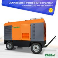 China 27 Cubic Meter/Min Outdoor Application Diesel Engine Screw Type Air Compressor with Wheels on sale