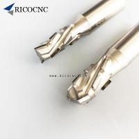 China PCD Diamond Helical Compression Router Bits for Laminated Wood Panels Cutting on sale