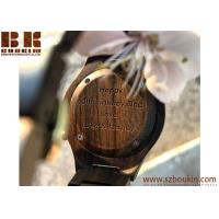 wholesale wood watch with low moq in stock new wood grain face simple wooden watch Manufactures