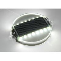 Super Bright LED Pavement Markers Solar Road Studs PC Shell 122x100x23 mm Manufactures