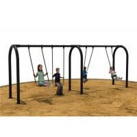 640 * 128 * 240 cm Children Swing Sets Color Custumized Safety Manufactures