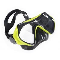 Adjustable Kids Diving Mask One Piece Swimming Goggles With Nose Cover Manufactures