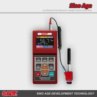 China Metal hardness tester manufacturer price with color display +/-2 HLD, 10 language on sale