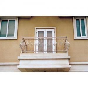 China Wrought iron balcony railings on sale