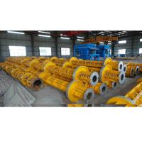 Electric Prestressed Concrete Poles Welding technology Running Wheel Manufactures