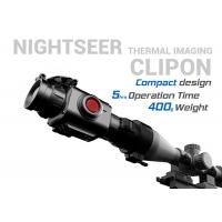 Quality Compact Thermal Clip On , Lightweight 5 Hours Standby Day Night Thermal Scope for sale