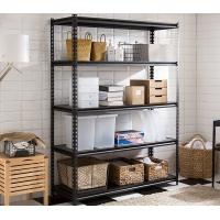China Multi Color Industrial Metal Shelving System / Metal Garage Shelves Long Lifespan on sale