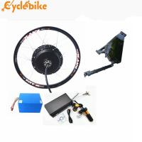 China 72v 5kw Rear Motor Electric Bike Kit / Motorcycle Set With Lithium Battery on sale