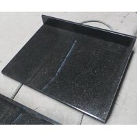 Quality Black Galaxy Kitchen Granite Slab Countertops Cost Gold Copper Colored Specks for sale