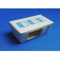 PVC Window Custom Packaging Boxes Full color / Single Color Gloss Lamination Manufactures