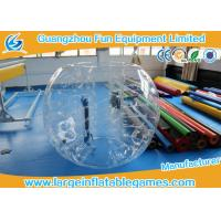 Commercial Clear Color Inflatable Bubble Ball With CE Certificate , Inflatable Bumper Ball Manufactures