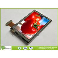 China Outdoor Sunlight Readable Touch Screen LCD Display TFT Transflective Resistive 3.5'' on sale
