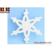 Unfinished Wood Lace Snowflake Cutout Christmas tree ornaments Holidays Gift Ornament Manufactures