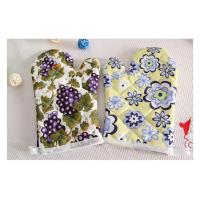 Manufacturer Custom digital printed cooking kitchen microwave cotton oven glove Manufactures
