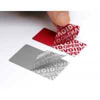Variable Data Printing Tamper Proof Security Labels Hi - Tech Nanometer Technology Manufactures