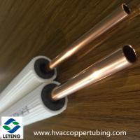 Thermal insulated copper pipe air conditioner for Insulation for copper heating pipes