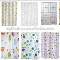 China High Quality Printed Shower Curtain,Polyester Shower Curtain ,Waterproof Shower Curtain on sale