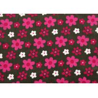 """100% Cotton Floral Corduroy Fabric Dressmaking Fabric Width 57"""" / 8"""" Manufactures"""