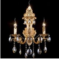 Antique crystal wall lamp high quality LED glass crystal wall lighting Manufactures