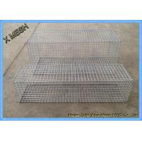 DIN EN ISO 17660 Galvanized Gabion Baskets Fence High Alloyed Steel Wires Manufactures