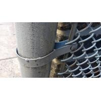 Galvanized PVC Coated Security Chain Link Mesh Fence Manufactures