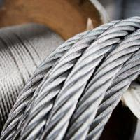 AISI 316 Extremely Flexible Stainless Steel Wire Rope 7x19 For Standing Rigging Manufactures