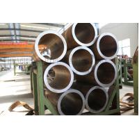 Tempered BK EN 10305-1 E355 Hydraulic Cylinder Pipe , Round Honed Steel Tube Manufactures