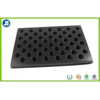 Black 0.5 mm Plastic ESD Trays Anti-static biodegradable for Electronics Manufactures