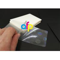 Quality 125 Mic / 175 Mic Pouch Laminating Film EVA Adhesion Eco Friendly Material for sale