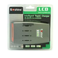 Soshine C3 LCD Quick Charger for 4pcs NiMh / NiCd AA AAA Batteries Manufactures