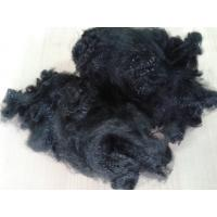 3dx51mm close virgin polyester staple fiber in jet black color for non woven