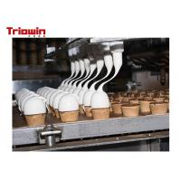 500 Tons /D Dairy Processing Line Ice Cream Manufacturing Equipment Manufactures