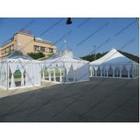 High Peak Luxury Transparent Marquee Tent Optional Size With Lining And Curtains Manufactures