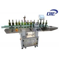 Glass Wine Bottle Automatic Labeling Machine With Front / Back Labeling Manufactures