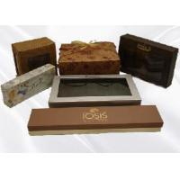 flower shape rigid paper box with corrugated board Manufactures