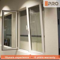 Thermal Break Glass Home Window , Double Glazed Aluminum Tilt And Turn Windows
