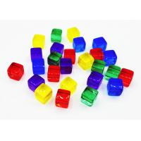 China Fantastic Board Game Accessories Plastic Acrylic Cubes Blocks Meeples Zip Bag Pack on sale