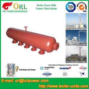 High Temperature Steam Drum In Boiler , Blowdown Drum Low Pressure Manufactures