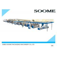 Buy cheap Fully automatic corrugated carton box 3 ply production line making machine 1800 from wholesalers