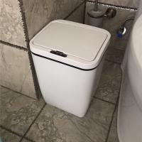 12 Liter Touchless Sensor Trash Can , Touchless Trash Bin Hands Free Operation Manufactures