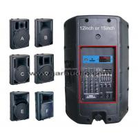 2 Way Active Plastic Cabinet Speaker With MP3 , DVD, CD , EQ Manufactures