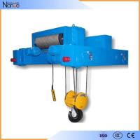 China Low Headroom Industrial Electric Hoist With Wire Rope , Materials Lifting on sale