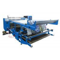 Oil Recycle Heating Rotary Heat Transfer Printing Machine 1800mm For Garment Manufactures